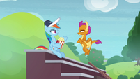 """Rainbow """"Snips was practicing with you"""" S9E15"""