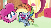 """Rainbow Dash """"why would I want to be"""" PLS1E2a"""