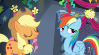 Rainbow Dash rolling her eyes S6E7