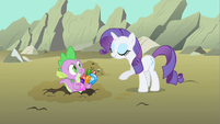 "Rarity ""gems to snack on"" S1E19"