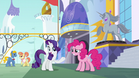 """Rarity """"we should flow towards some lunch"""" S6E12"""