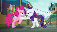 Rarity --is your party cannon lost-- S6E3