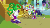 """Spike """"might need the whole day to rest"""" S9E19"""