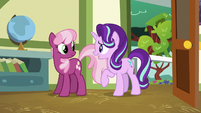 Starlight enters Cheerilee's classroom S8E12