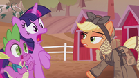 Twilight and Spike in mind-blown shock S5E25