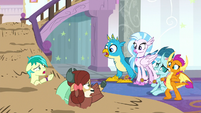 Young Six regroup by the quicksand S8E15