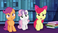 "Apple Bloom worried ""oh, no!"" S6E19"