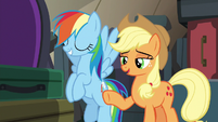 """Applejack """"you don't have to worry about that"""" S6E18"""