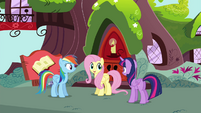 "Fluttershy ""I may have a way to help Rainbow"" S4E21"