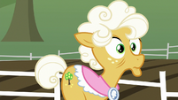 Goldie Delicious remembering something S9E10