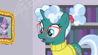 "Librarian Pony ""in the basement"" S9E5"