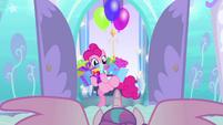 Pinkie Pie bursts into Flurry Heart's nursery BFHHS1