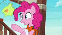 Pinkie excited to play with Applejack S6E22