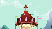 Ponyville Town Hall rooftop S5E19