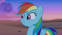 """Rainbow Dash """"there must be ponies here"""" S7E18"""