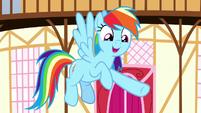 Rainbow Dash -what a good friend she is- S8E18