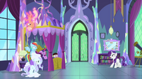 """Rarity """"we simply must find a cure!"""" MLPS2"""