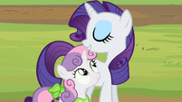 Rarity and Sweetie Belle -the spa of course- S02E05