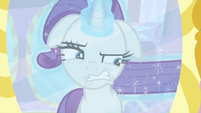 Rarity stretching out her mane MLPS1