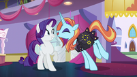 "Sassy Saddles ""bobbins and bodkins, Rarity!"" S5E14"