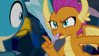 """Smolder """"you never saw any of that"""" S8E22"""