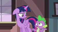 Spike --at least you won't have to worry-- S6E22