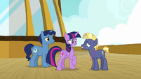 Star Tracker in front of Twilight Sparkle S7E22