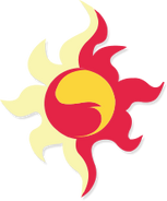Sunset Shimmer cutie mark ID