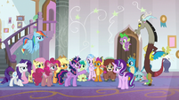 Twilight Sparkle angry with Discord S8E15