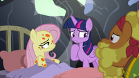 Twilight Sparkle unsure of what to say S7E20
