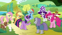 Twilight introduces Rainbow to Maud S4E18