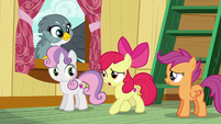 Apple Bloom --hold on just a hoofstep-- S6E19