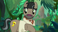 """Caballeron """"watch where you put your hooves"""" S9E21"""
