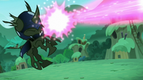 Changeling gets blasted S5E26