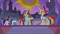"""Crackle Cosette """"most powerful ponies"""" S9E17"""