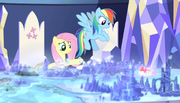 """Fluttershy """"why are our cutie marks over there?"""" S5E01.png"""