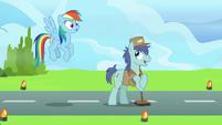 """Janitor Pony """"meet outside of Canterlot"""" S9E26"""