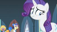 Nervous Rarity after box is stolen S4E19