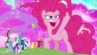 "Pinkie ""I could transform the cosmos"" S9E25"