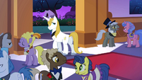 Prince Blueblood takes a look at Rarity S1E26