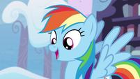 Rainbow Dash happy again S4E21