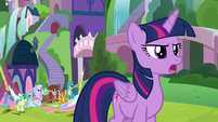 "Twilight ""my school teaches for all of us"" S8E1"