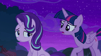 "Twilight ""when I first came to Ponyville"" S6E6"