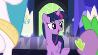"""Twilight Sparkle """"would totally hit it off!"""" S7E1"""