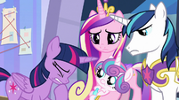 Twilight Sparkle fearing the worst S9E25