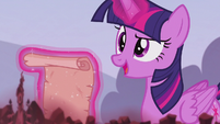 Twilight Sparkle has a cunning plan S5E25