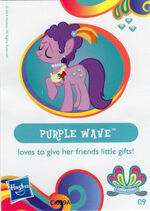 Wave 11 Purple Wave collector card