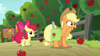 """Applejack """"just to be sure!"""" S9E10"""