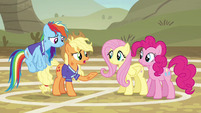 """Applejack """"sucked the fun right out of the game"""" S6E18"""