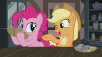 Applejack -that's somethin' I know all about!- S5E20